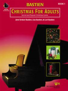 """""""bastien Noël Pour Adultes"""" Piano Music Book (livre Seul) Niveau 1-on Vente-nouveau!-afficher Le Titre D'origine"""