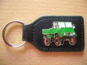 Automobilia Schlüsselanhänger Schlüsselanhänger Unimog 411 Bulldog Traktor Schlepper 7045 Letzter Stil
