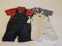 Boys Clothes Size 18 Months Oshkosh Overall Summer Lot Brand Retail $108