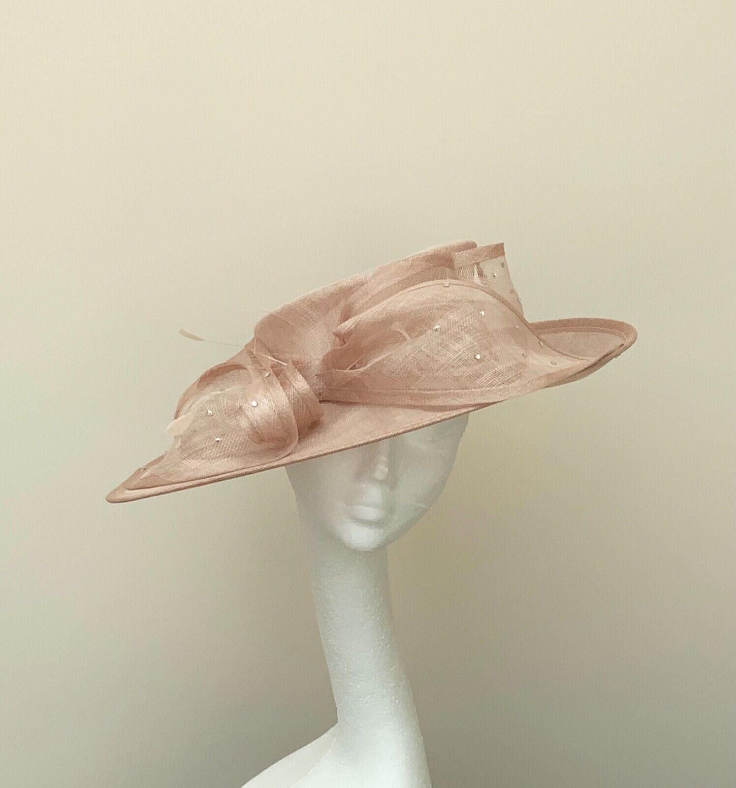 Nude Wedding Occasion Races Hat