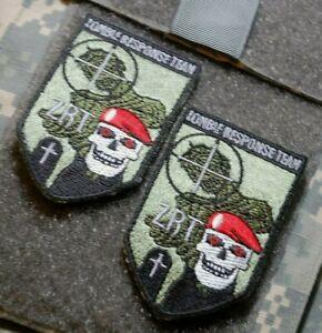Resident Evil Zombie Épidémie 'Raccoon' Ville Response Équipe ( Zrt ) Badge X 2