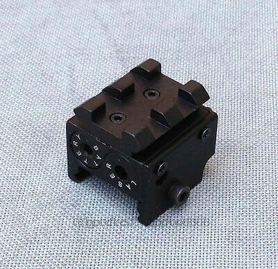 Mini red Laser Sight Subcompact Ruger SR22 SR22P Springfield XD Walther P99