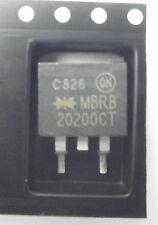 Mbrb20200ct su SEMI DUAL DIODO SCHOTTKY 200V 20A comune catodo D2PAK