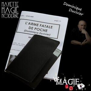 DUVIVIER - L'Arme fatale de poche - Tour de Magie - Bicycle