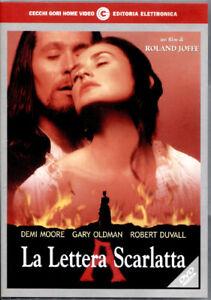 La-Lettera-Scarlatta-1995-DVD-Nuovo-Sigillato-Demi-Moore-Robert-Duvall-N
