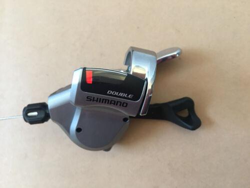 Shimano SL-R780 Flatbar Rapidfire Plus Schalthebel 2-fach Silber Neu