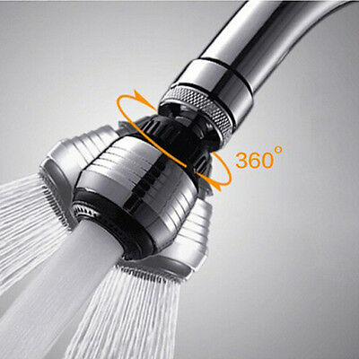 Water Saving Kitchen Tap Hose Faucet Aerator 360° Swivel Adjustable Nozzle Spout