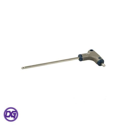 Controlador de bola hexagonal maneja T-tamaños de 2.5 X 100 Mm a 6 X 150 mm