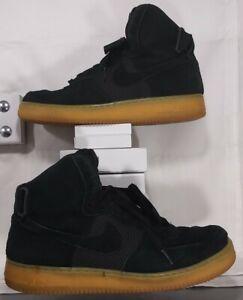 Nike Air Force 1 High 07 Lv8 806403 003 Black Suede Gum Men S Size 11 5 91203577673 Ebay