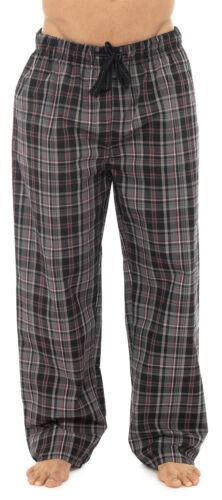 Mens Designer Pyjamas bottoms trousers cotton mix pjs lounge  pants Check S-XL