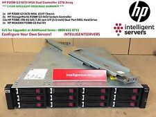 HP P2000 G3 ISCSI MSA Dual Controller 12TB Array ** BK830A **