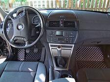BMW X3 Typ E83/X83 Alu Fußmatten Set 5-tlg. SBE-S