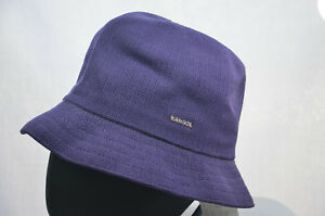 Image is loading KANGOL-TROPIC-PLAYER-PURPLE-TRILBY-HAT-6371BC-MENS- 45e2c0808e0