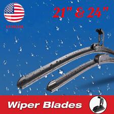 24 Amp 21 Premium Hybrid Silicone Windshield Wiper Blades High Quality J Hook Us