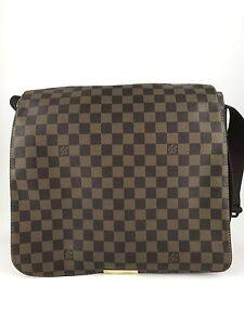 e0a9a0904df8 Image is loading Authentic-Louis-Vuitton-Damier-Bastille-Shoulder-Handbag- Bag-