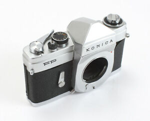 KONICA-FP-CHROME-BODY-SHUTTER-MIRROR-PROBLEMS-AS-IS-199963
