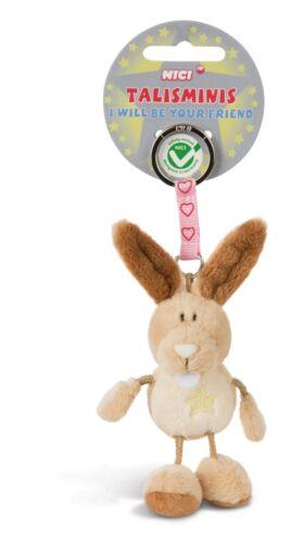 Nici Schlüsselanhänger Talisminis Glücksbringer lucky charm Hase bunny Plüsch