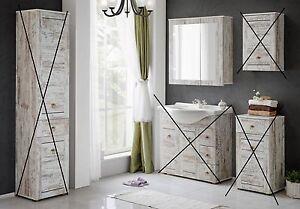 badm bel provence 85 shabby chic spiegelschrank kr ebay. Black Bedroom Furniture Sets. Home Design Ideas