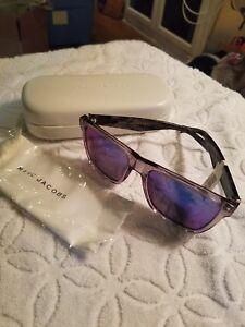 c9c09d40fd Marc Jacobs Flat Top Square Frame Sunglasses NWT  140 762753996824 ...