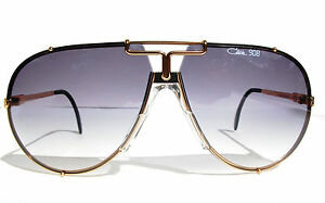 fe83cd7445b6 Cazal Vintage Sunglasses - NOS - Model 908 - Col. 302 - Gold   Black ...