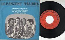 QUARTETTO CETRA disco EP Canzone Italiana FABBRI made in ITALY Nella vecchia fat