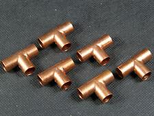 T-Stück Lötfitting CU-Fittinge Kupfer 6mm / 6 Stück