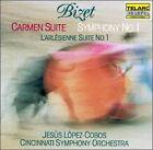 Bizet: Carmen Suite; Symphony No. 1; L'arl'sienne Suite No. 1 (CD, Aug-2008, Telarc Distribution)