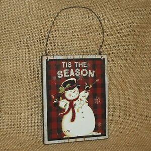 Tis-The-Season-Snowman-Ornament-Christmas-Ornament-Primitives-by-Kathy