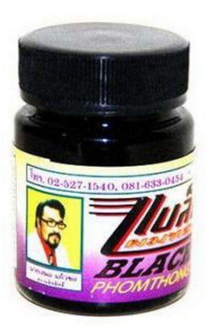 Black Phomthong facial hair growth herb cream chest hair,mustache,beard