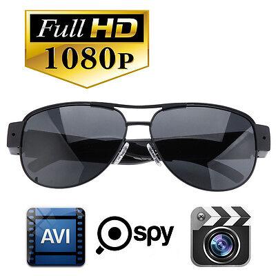 1080P Full HD Spy Hidden Eyewear Glasses Sport Camera DVR Video Recorder DV Cam