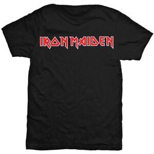 Iron-Maiden-039-Logo-039-T-Shirt-NEW-amp-OFFICIAL