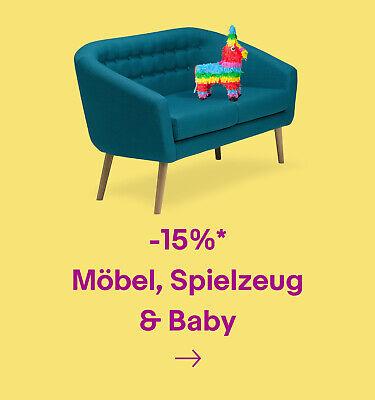 -15% Möbel, Spielzeug & Baby