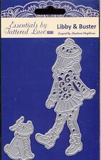 TATTERED LACE Cutting Die - LIBBY & BUSTER -Girl with Dog
