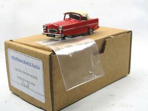 Importé De L'éTranger Sams Model Cars 1958 Bond Minicar Mark E Top Up Red White Metal 1/43 Weißmetall-afficher Le Titre D'origine Nouveau Design (En);