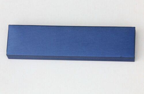 Haute Qualité Bleu Marine bijoux boîte cadeau anneau pendentif bracelet et Taille
