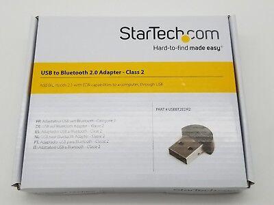 USBBT2EDR2 Class 2 EDR USB BT StarTech.com Mini USB to Bluetooth 2.1 Adapter