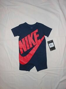 04ac5d20a NWT Nike Baby Boys obsidian romper outfit