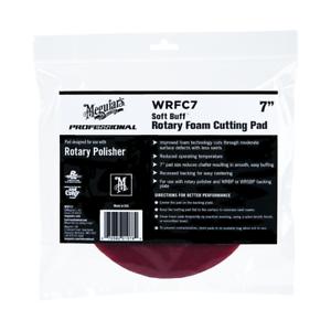 "WRFC7 Meguiar/'s 7/"" Soft Buff Rotary Foam Cutting Pad"