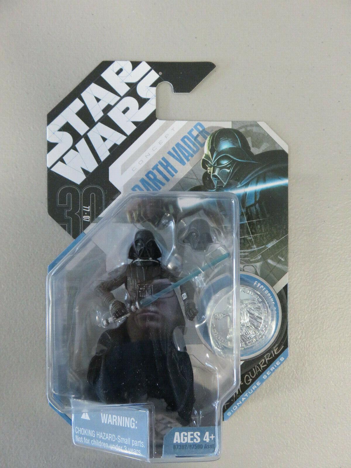 Darth Vader 2007 STAR WARS Saga 30th Anniversary #28 McQuarrie Concept