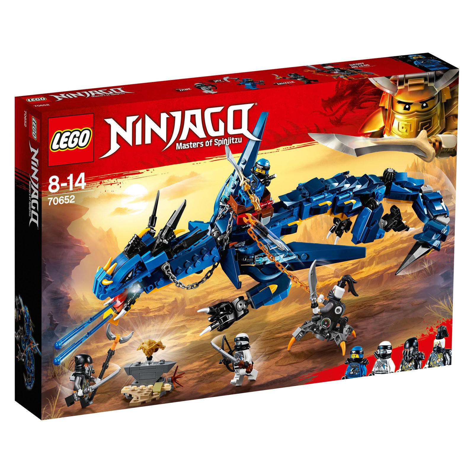 LEGO NINJAGO DRAGONE DELLA TEMPESTA - LEGO 70652  NUOVO - SIGILLATA