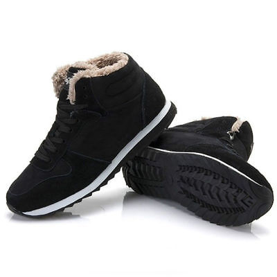 Men/Women Fashion Winter Snow Boots Plush Outdoor Work Shoes Warm Boots