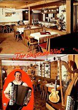 KRAIBURG Inn Bayern Gasthof Stolzbräu Mehrbild-Postkarte mit singender Wirt AK