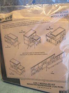 DPM HO #243-35100 Modular Building System(TM) -- Three-In-One - Kit