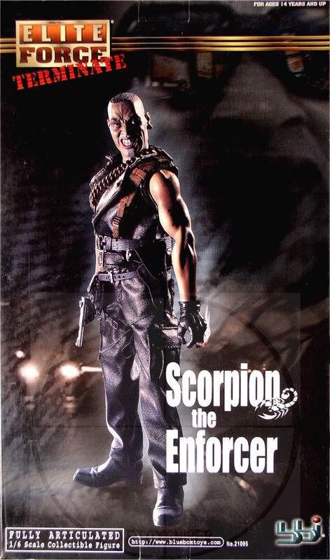 Terminate BBI Scorpion The Enforcer 1 6 Scale Action Figure  U.S. SELLER  NEW
