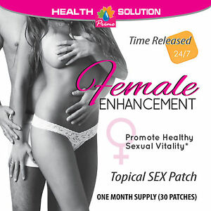 Sex drive patch for women