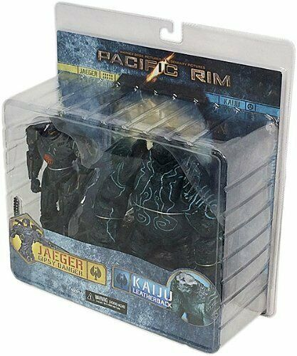NECA Pacific Rim battle Gipsy Danger Leatherback 7  Action Figure 2 Packs 31948