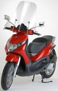 2400//A FABBRI Parabrezza Trasparente per Piaggio Vespa S 50 2007 2008 2009 2010