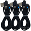 3Pack-6Ft-90-Degree-Right-USB-Type-C-Cable-Fast-Charger-Heavy-Duty-Charge-Cord miniature 9