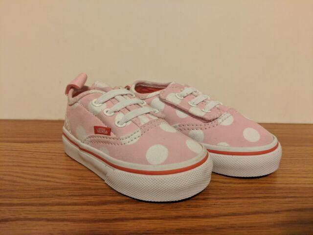 VANS New Authentic V Lace Polka Dot Vault Toddler Size USA 5 ac82429da5