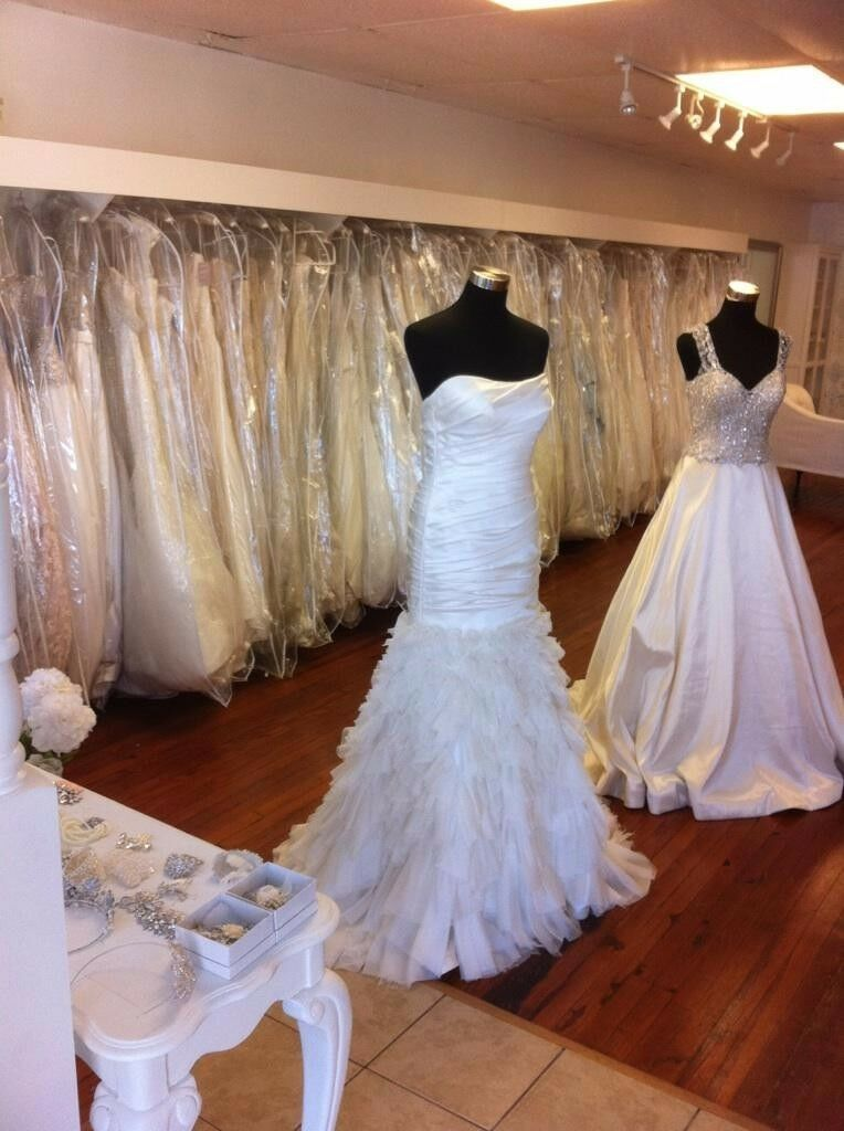 Wedding, bridemaid, cocktail dresses, jewelry, mannequins, furniture.. ALL GOES